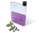 Transparent Flat Drink Bottle - 500ml