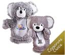 Plush Koala Hand Puppets