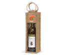Martinborough Jute Wine Carriers