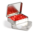 Rectangle Hinge Tins with Jelly Beans 65 grams