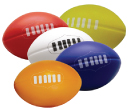 Multi-Colour Stress Footballs