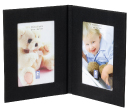 Fabric Twin Photo Frames
