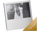 Florence Offset Silver Photo Frames
