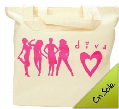 Calico Bag Short Handle