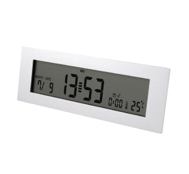 Aluminium Desk Digital Clocks