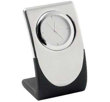Elite Silver Quartz Clocks