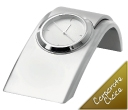Icon Silver Quartz Clocks