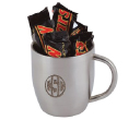 Mars Bar Double Wall Stainless Steel Curved Mugs