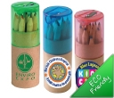 Coloured Pencils in a Cardboard Tube
