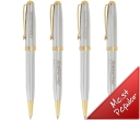 Bic Worthington Chrome Pens
