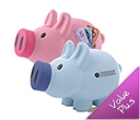 Priscilla (Pink) / Patrick (Blue) Pig Coin Banks