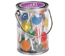 Assorted Colour Lollipops in 1 Litre Drum