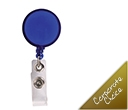 Retractable Name Badge Holders with Metal Clip