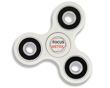 Branded Fiddle Spinners