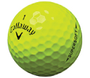 Callaway Super Soft YELLOW Golf Balls
