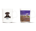 Chroma Bone China Coffee Mugs