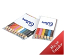 Coloured Pencils in a PVC Pouch 10 Pack