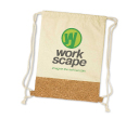 Cotton Cork Backsacks