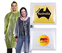 Reusable Poncho In  Zipper Pouches