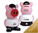 Percy Pig Standing Coin Banks