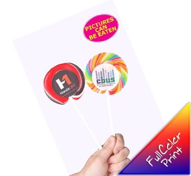 Large Candy Lollipops
