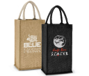 Merlot Jute Double Wine Carrier