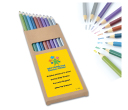 Metallic Full Length Colouring Pencils