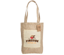 Reforest Jute Bag with Gusset