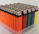 Solid Colour Promotional Lighters
