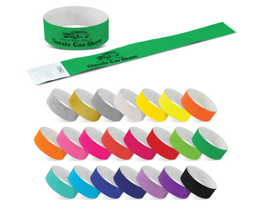 Tyvek Event Wrist Bands