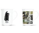 Vogue Bone China Coffee Mugs