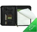 Eco Recycled Deluxe A4 Zippered Compendiums