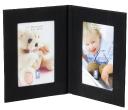 Fabric Twin Photo Frames