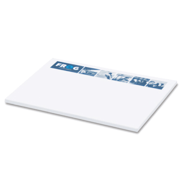 White Post It Notes 200mmx75mm
