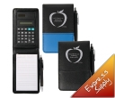 Ranger PVC Notepad with Calculator and Pen
