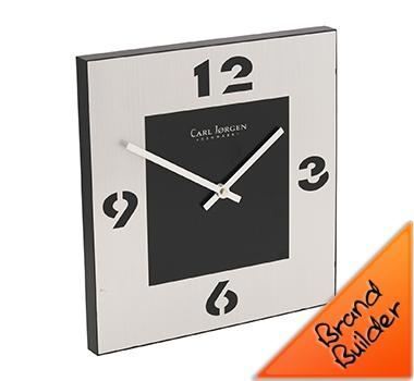 Carl Jorgen Designer Square Wall Clocks