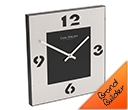 Carl Jorgen Designer Square Wall Clocks