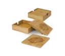 Kooyong Bamboo Coasters