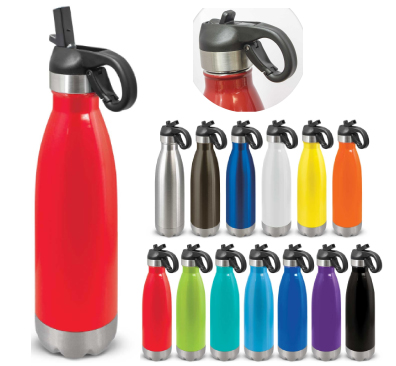 Flip Lid Vacuum Bottles