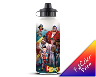 Full Colour Printed Metal Water Bottle