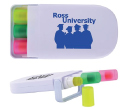 Retractable Wax Highlighter Markers