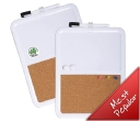 Magnetic Cork Whiteboards