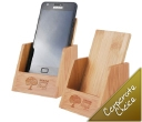 Bamboo Phone Holder