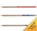 Sharpened Full Length Timber Pencils