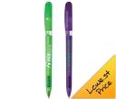 Bic Pivo Clear Chrome Pen
