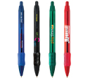 Bic Wide Body Clear Grip Pens
