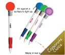 Light Up Bouncy Ball Pens