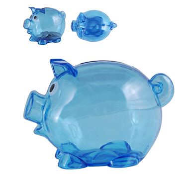 World's Smallest Pig Coin Banks