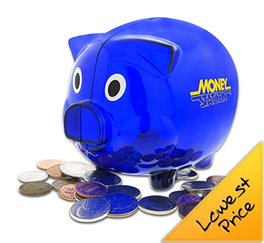 Clear Piggy Banks