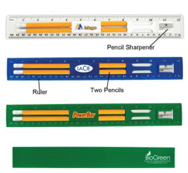 BioGreen Pencil & Ruler Sets